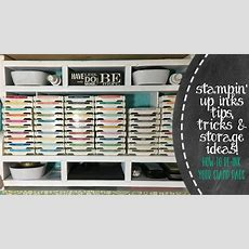 Stampin' Up Inks Tips, Tricks & Storage Ideas Youtube