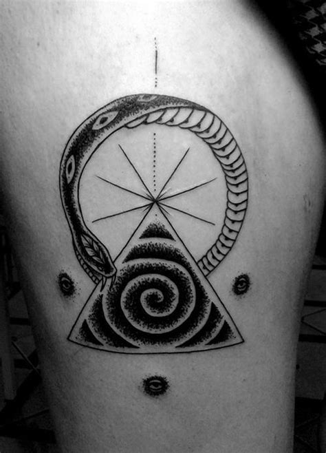 50 Ouroboros Tattoo Ideas To Try In March, 2020
