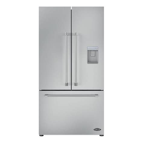 Samsung Cabinet Depth Refrigerator French Door by Rf201acusx1 Dcs 20 French Door Refrigerator Stainless