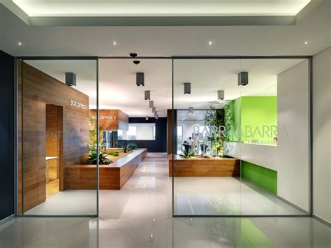 green office interior design a look at the offices of barra barra office