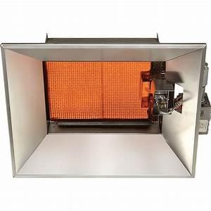 Sunstar Heating Products Infrared Ceramic Heater  U2014 Lp