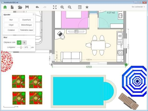 dessiner un plan de cuisine plan de cuisine gratuit logiciel archifacile