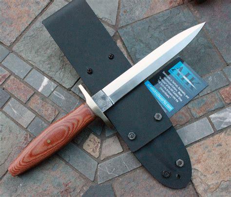 zach miller custom handmade dagger  canvas micarta
