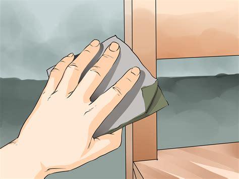 como remover mofo de moveis de madeira  passos