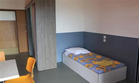 prix chambre crous hébergement courte durée résidence louis timagène houat