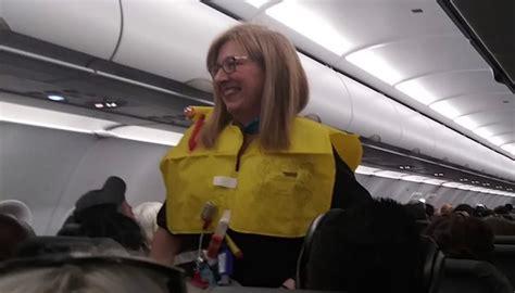 worlds funniest flight attendant  viral