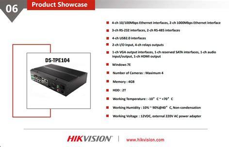 hikvision control terminal ds tpe bk latvia
