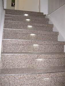 Steinteppich Treppe Außen : treppenrenovierung mit marmor steinteppich auf holztreppe mit led beleuchtung gdzie ~ Sanjose-hotels-ca.com Haus und Dekorationen