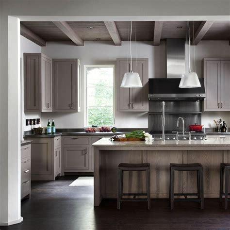 taupe kitchen ideas  pinterest grey kitchens grey shaker kitchen  country