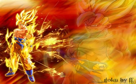 Dragon Ball Z Wallpapers Goku ·①