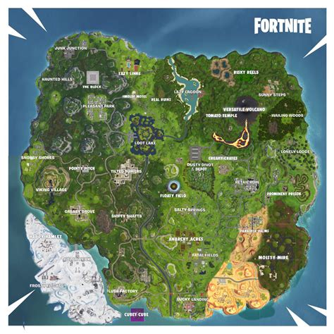 yesterday  fixed  map  fortnite