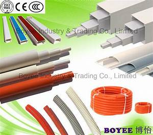 China White Wiring Duct    Pvc Electric Trunking    Pvc