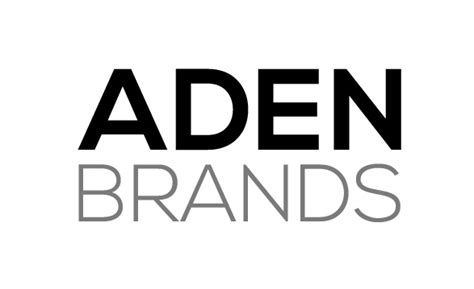 Aden Brands Ltd  We Make Brands Beautiful