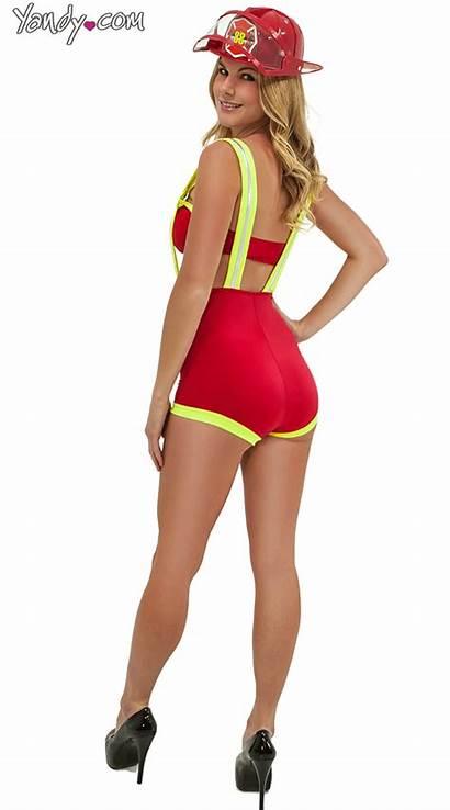 Costume Fire Fighter Halloween Gifs Twerk Popsugar