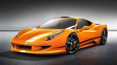 Ferrari 458 Orange Italia Wallhere Wallpapers