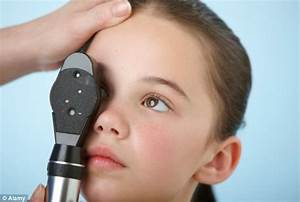 Children miss out on eye tests | Daily Mail Online