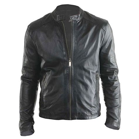 Jacket For by Stylish Design New Biker Real Leather Jacket