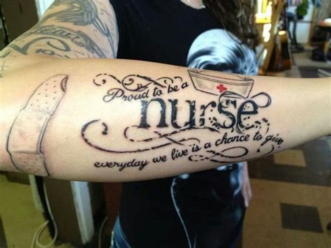 nurse tattoo images pictures  inspirational ideas
