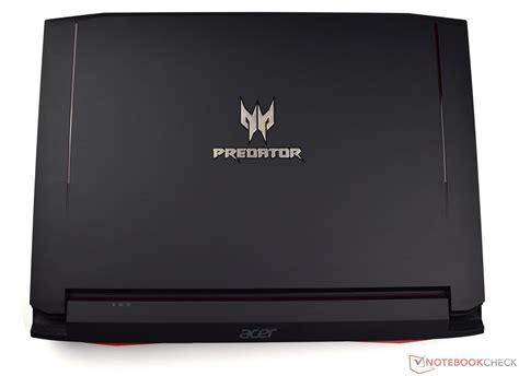 test acer predator   laptop notebookcheckcom tests