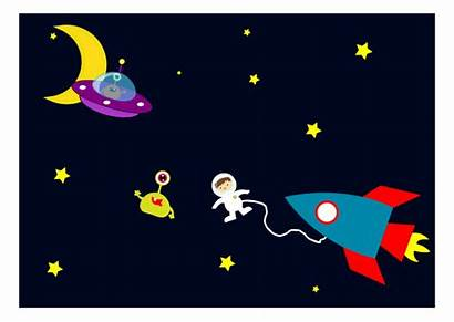 Space Clipart Astronaut Aliens Encounters Clip Objects
