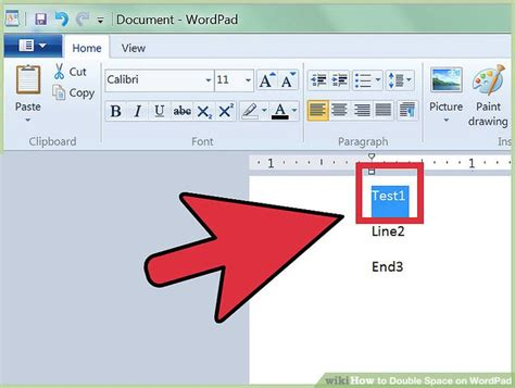 How To Double Space On Wordpad 4 Steps (with Pictures
