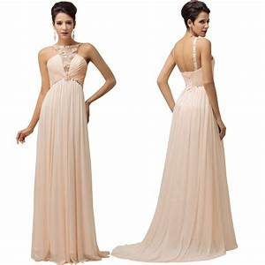Ladies women evening formal gown party prom long wedding for Dress for formal wedding