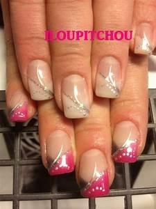 Modele French Manucure Fantaisie : modele french manucure original french manucure gel original ongles page 3 modele french ~ Melissatoandfro.com Idées de Décoration