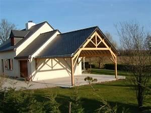 Charpente Traditionnelle Bois En Kit : plan garage ossature bois toit plat 9 garage de voiture ~ Premium-room.com Idées de Décoration