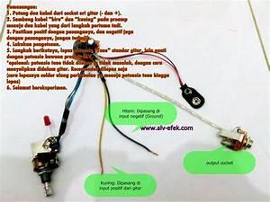 Kit Converter Pickup Pasif Ke Aktif