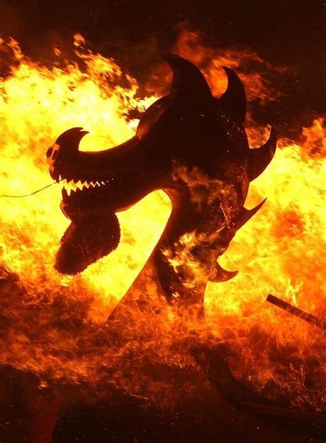 Viking Longboat Burning by 11 For Properly Burning A Viking Ship