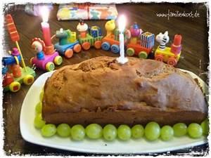 Kuchen 1 Geburtstag Mädchen : kuchen zum ersten geburtstag bananen rezept ohne zucker ~ Frokenaadalensverden.com Haus und Dekorationen