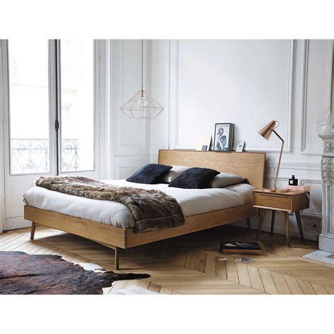 lade per comodini da letto massief eikenhouten vintage nachtkastje met 1 lade