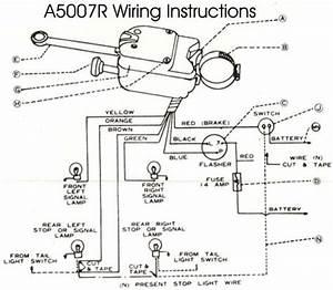 Wiring Diagram  Universal Turn Signal Wiring Diagram Brake
