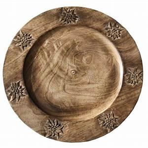 Sous Assiette Bois : sous assiette en bois les sculpteurs du lac ~ Teatrodelosmanantiales.com Idées de Décoration