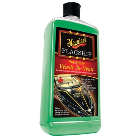 Meguiars Boat Wax by Meguiar S Boat Rv Flagship Premium Wash Wax M4232 32 Oz