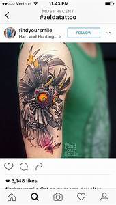 28 Majora S Mask Tattoo Majora S Mask By Luis Avil