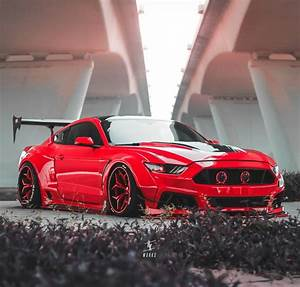 """Ford Mustang """"Red Devil"""" Is the Widebody Daddy - autoevolution"""