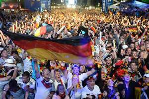 celebrations in berlin after germany 39 s world cup victory abc news australian broadcasting