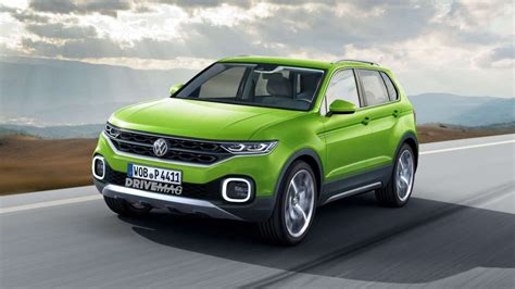 Vw Tcross The Jackedup Polo To Reportedly Arrive In 2018