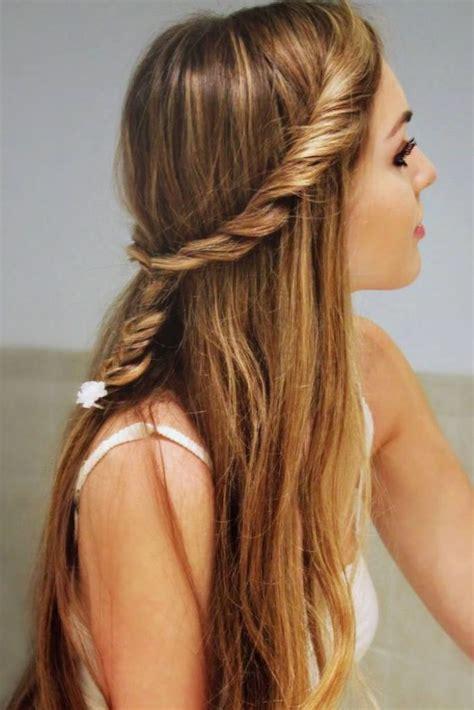 girly hairstyles long hair stylish  girl hairstyles