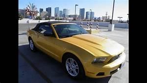 Ford Mustang Convertible - Walkaround - Las Vegas - YouTube