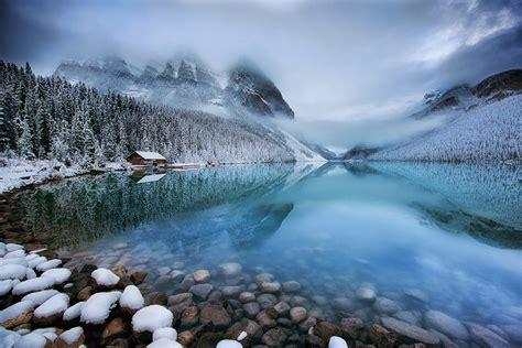 winter lake louise   slow road luxury travel blog