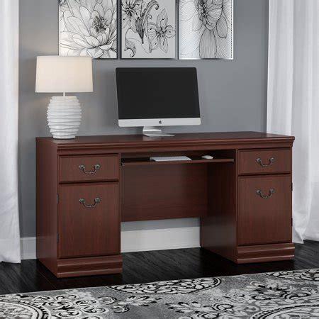Bush Credenza by Bush Furniture Birmingham Credenza Desk With Keyboard Tray