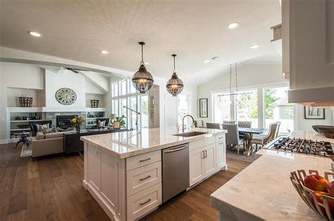 kitchen center island with sink kitchen island sink with dishwasher transitional kitchen