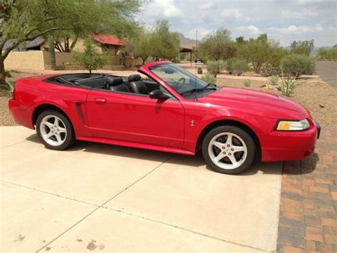 purchase   ford mustang cobra svt convertible