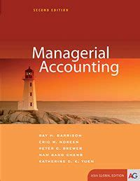 managerial accounting  edition asia global edition