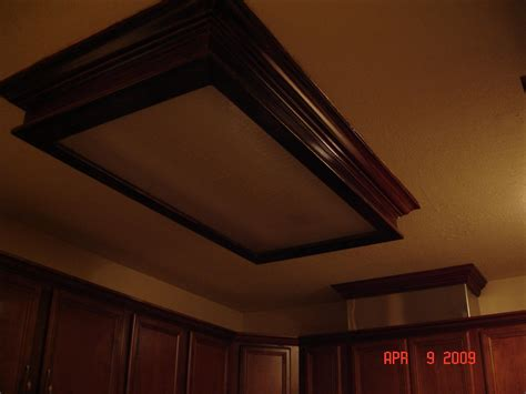 Replacing fluorescent light with recessed (floor, counters