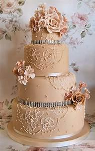 Big Wedding Fondant Cakes - Fondant Cake Images