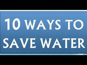 Simple essay on save water