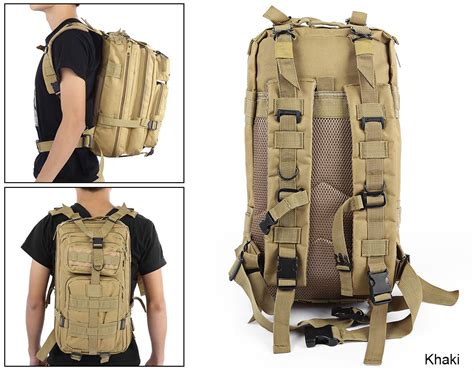 2018 2017 Men Women Backpack Outdoor Military Army